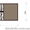 Распашные евроворота с калиткой,  распашные ворота под заказ #711128