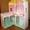 Кукольный домик из дерева эксклюзивного дизайна + Мебель в подарок #1508726