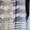 Тюль в полоску на микросетке. Цвет белый,  кремовый,  венге. #1611119