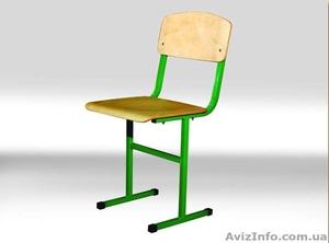 Стул ученический Т – образный, Школьная мебель, Стулья школьные - Изображение #1, Объявление #1102816