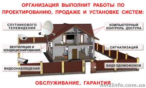 Вентиляция,кондиционеры,видеонаблюдение,спутниковое ТВ,сигнализация,видеодомофон - Изображение #1, Объявление #1579607