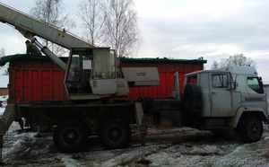 Продаем автокран ДАК КС-3575А-1,14 тонн, КрАЗ 250, 1993 г.в. - Изображение #2, Объявление #1611757