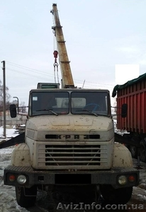 Продаем автокран ДАК КС-3575А-1,14 тонн, КрАЗ 250, 1993 г.в. - Изображение #1, Объявление #1611757