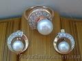 Продается золотое кольцо(16, 5) и сережки