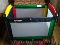 Детская кроватка-манеж Geoby H211-D