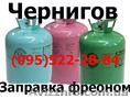 Заправка фреоном Холодильника Морозильной камеры Витрины Ларя Чернигов