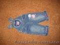 Продам джинсовый комбинезон