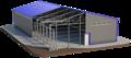 Строительство ангаров,  ферм,  складов